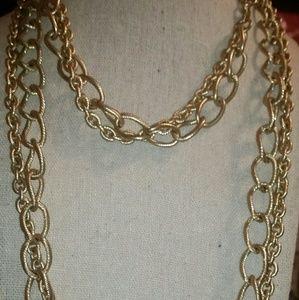 Stella & Dot 'LA Coco' Curb Chain Necklace & Multi